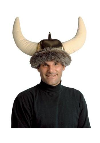 Sombrero vikingo de felpa