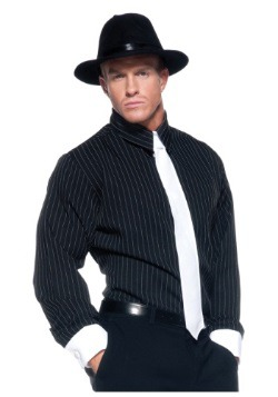 Camisa de gángster - a rayas