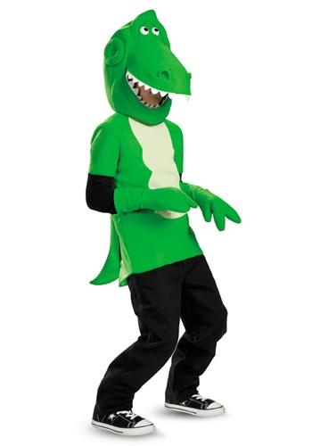 Disfraz de Rex de Toy Story para niños pequeños