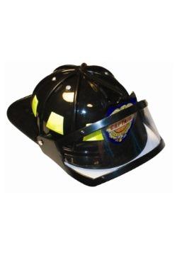 Casco de bombero con visor