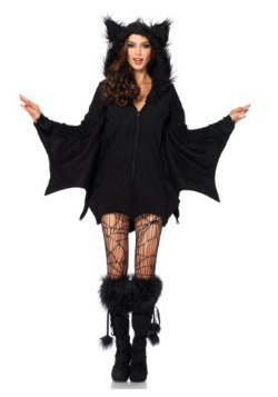 Disfraz cómodo de murciélago para adulto talla extra