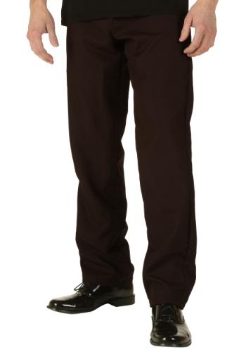 Pantalones café talla extra