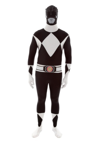 Power Rangers: Disfraz Morphsuit de Ranger Negro