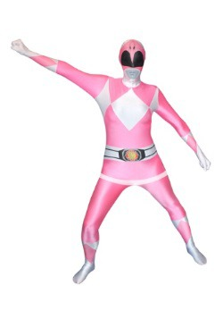 Power Rangers: Disfraz Morphsuit de Ranger Rosa