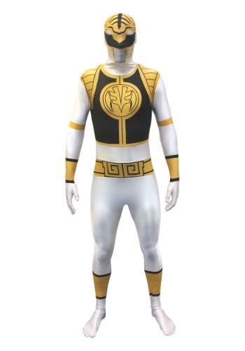 Power Rangers: Disfraz Morphsuit de Ranger Blanco