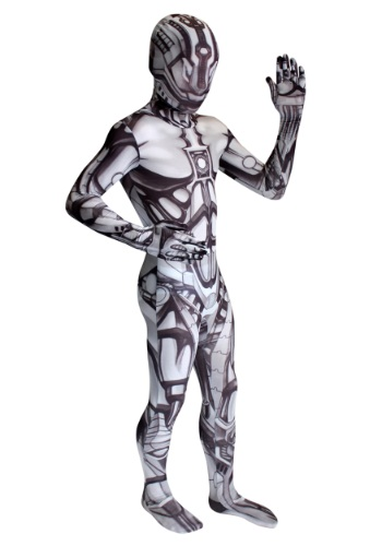 Morphsuit de androide para niño