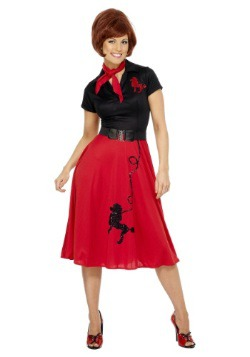 Disfraz Poodle estilo los 50 para mujer