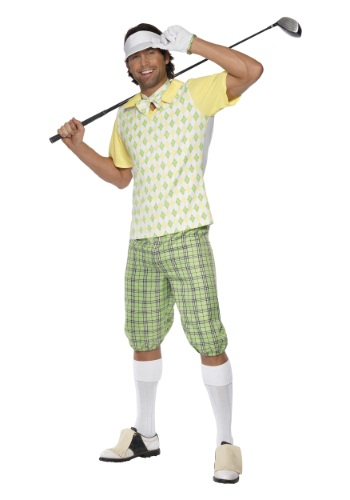 Disfraz de golf desaparecido para hombre