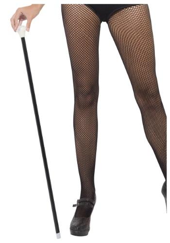 Bastón de baile negro estilo años 20