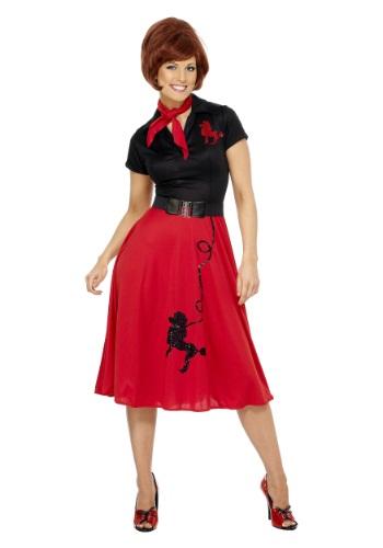 Disfraz para mujer con falda estilo Poodle tamaño 50