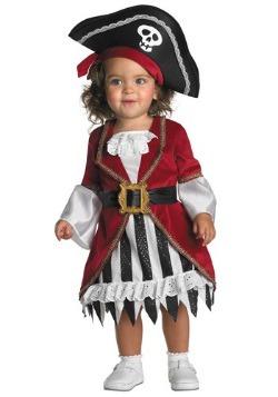 Disfraz de chica pirata para niñas pequeñas