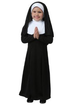 Disfraz de monja para niños pequeños