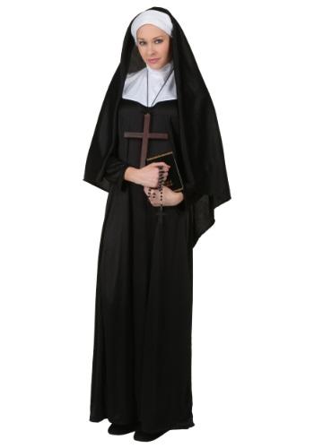 Disfraz de monja tradicional talla extra