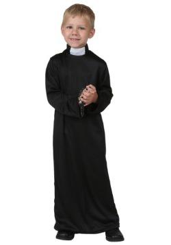 Disfraz de sacerdote para niños pequeños