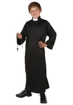Disfraz infantil de sacerdote