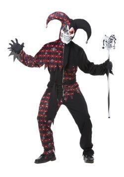 Disfraz de Sinister Jester para adulto