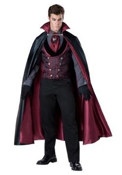 Disfraz de vampiro conde contactivo para hombre