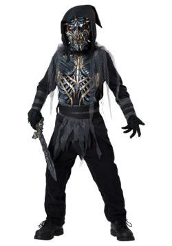 Disfraz infantil de guerrero de la muerte