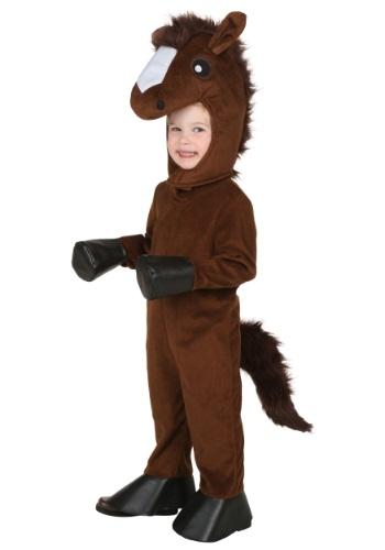 Disfraz de caballo feliz para niños pequeños