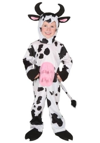 Disfraz de vaca para niños pequeños