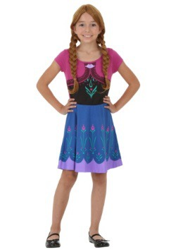 Frozen Tween soy Anna Dress