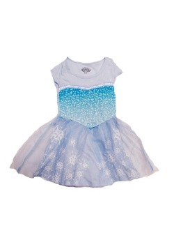 Tween Frozen I'm Elsa Dress