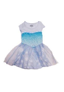 Tween Frozen I'm Elsa Dress