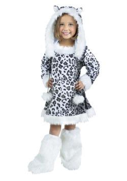 Disfraz de leopardo de nieve para niños/niños pequeños