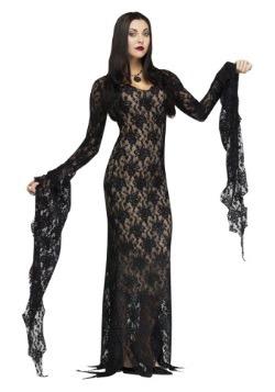 Disfraz de encaje Morticia