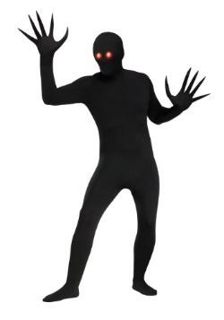 Disfraz para adulto de demonio de sombra ojos rojos