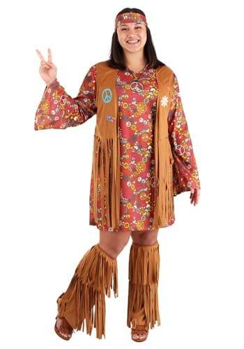 Disfraz Peace & Love talla extra