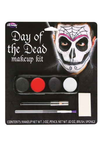 Kit de maquillaje de Día de Muertos