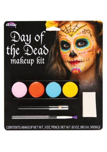 Maquillaje de Día de Muertos para mujer