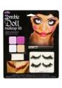 Maquillaje de muñeca de zombi