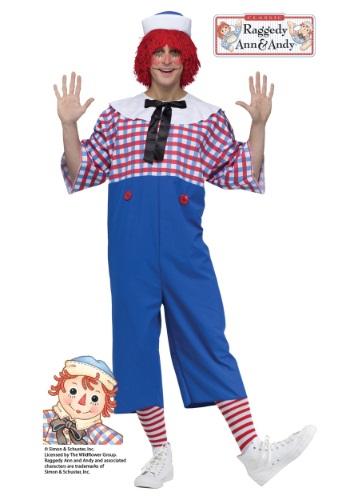 Disfraz de Raggedy Andy para adulto
