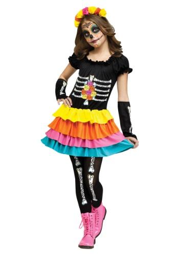 Disfraz infantil de Día de Muertos
