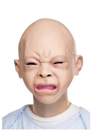 Máscara de bebé que llora