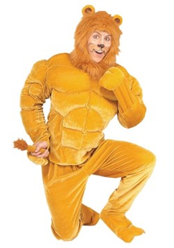 Disfraz de león macho talla extra
