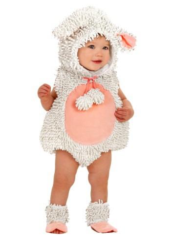 Disfraz de corderito para bebé
