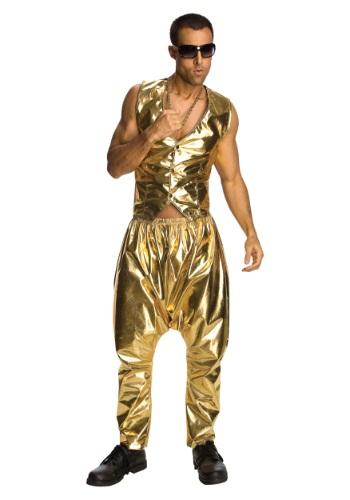 Pantalones dorados de MC Hammer