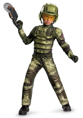 Disfraz de soldado de infantería para niños