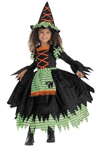Disfraz de bruja de cuento para niños pequeños