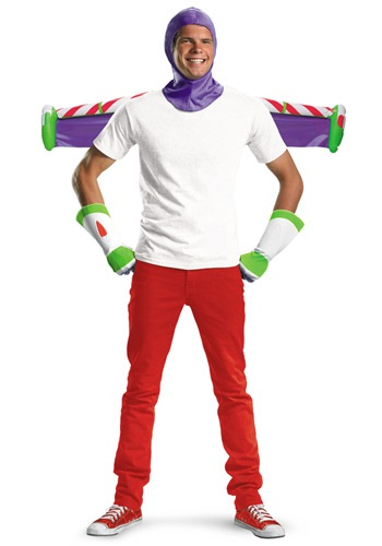 Kit de disfraz de Buzz Lightyear para adulto