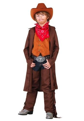 Disfraz de vaquero del salvaje Oeste para niños pequeños