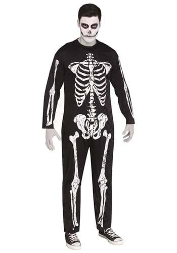 Disfraz de esqueleto aterrador talla extra
