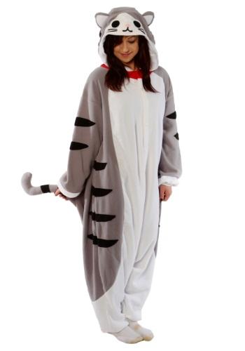 Disfraz de pijama Tabby Cat para adulto