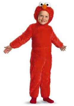 Disfraz de Elmo peludo para niños pequeños
