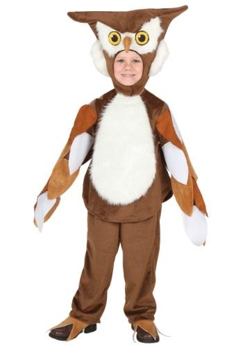 Disfraz de Hootie el búho para niños pequeños