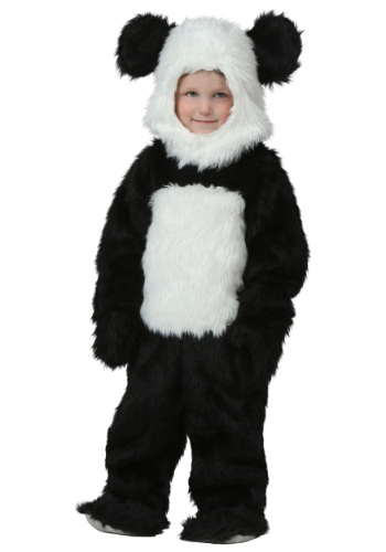 Disfraz de panda deluxe para niños pequeños