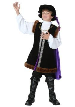 Disfraz de hombre noble para niños